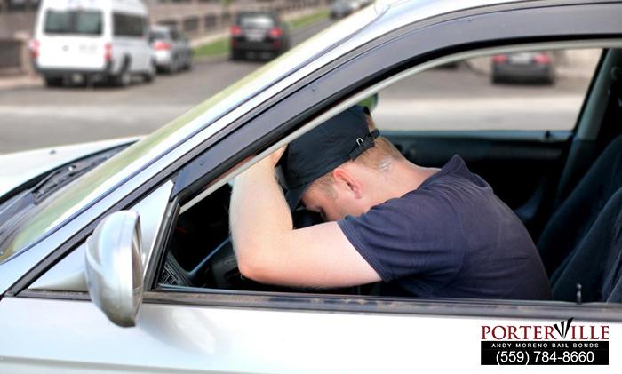 Falling Asleep Behind the Wheel in California